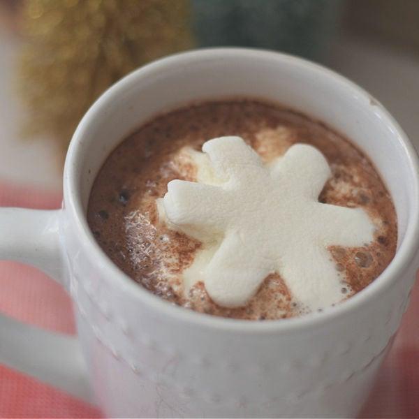 snowflake marshmallow shape