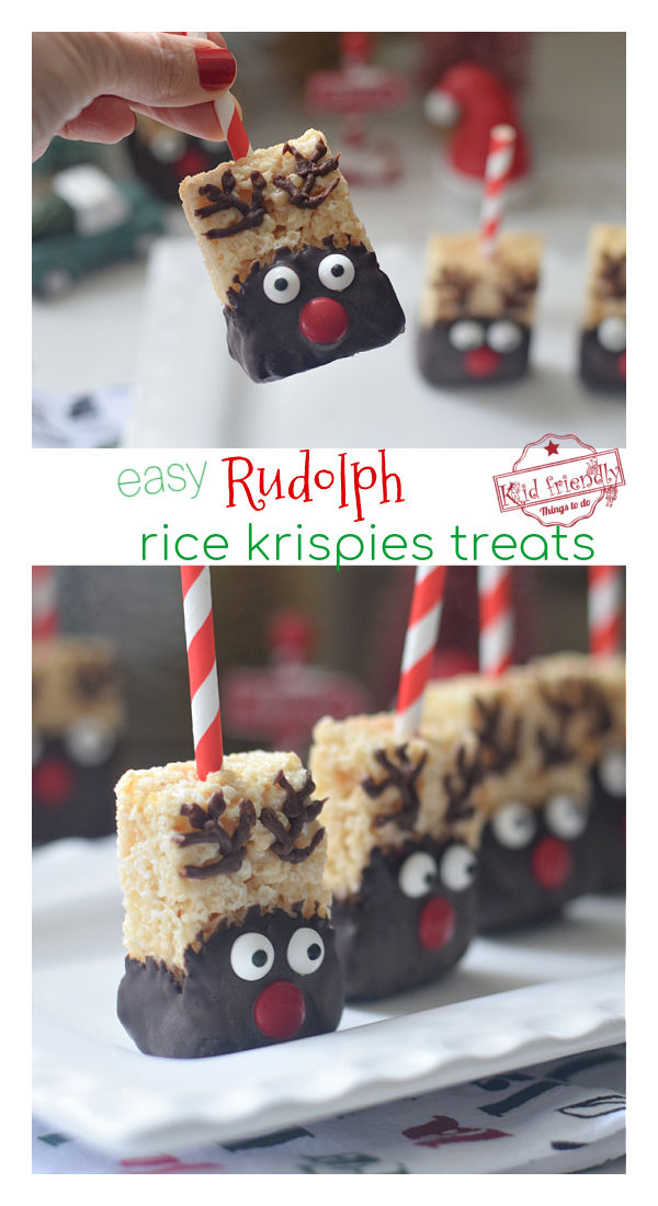 cute reindeer Christmas treats for kids