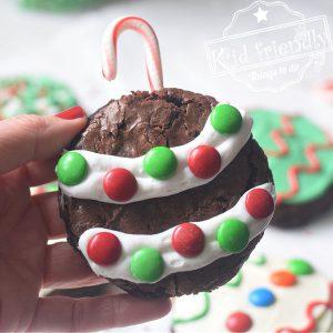 fun Christmas Brownies for kids