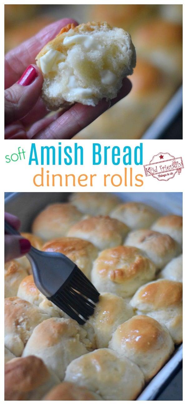 amish dinner roll recipe