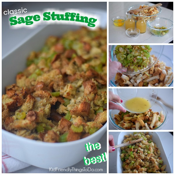 making sage stuffing