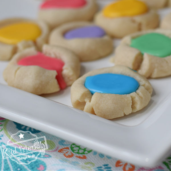 thumbprint cookies for spring