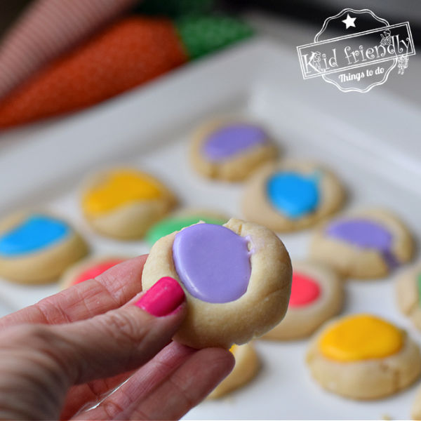 colorful pastel cookies for spring