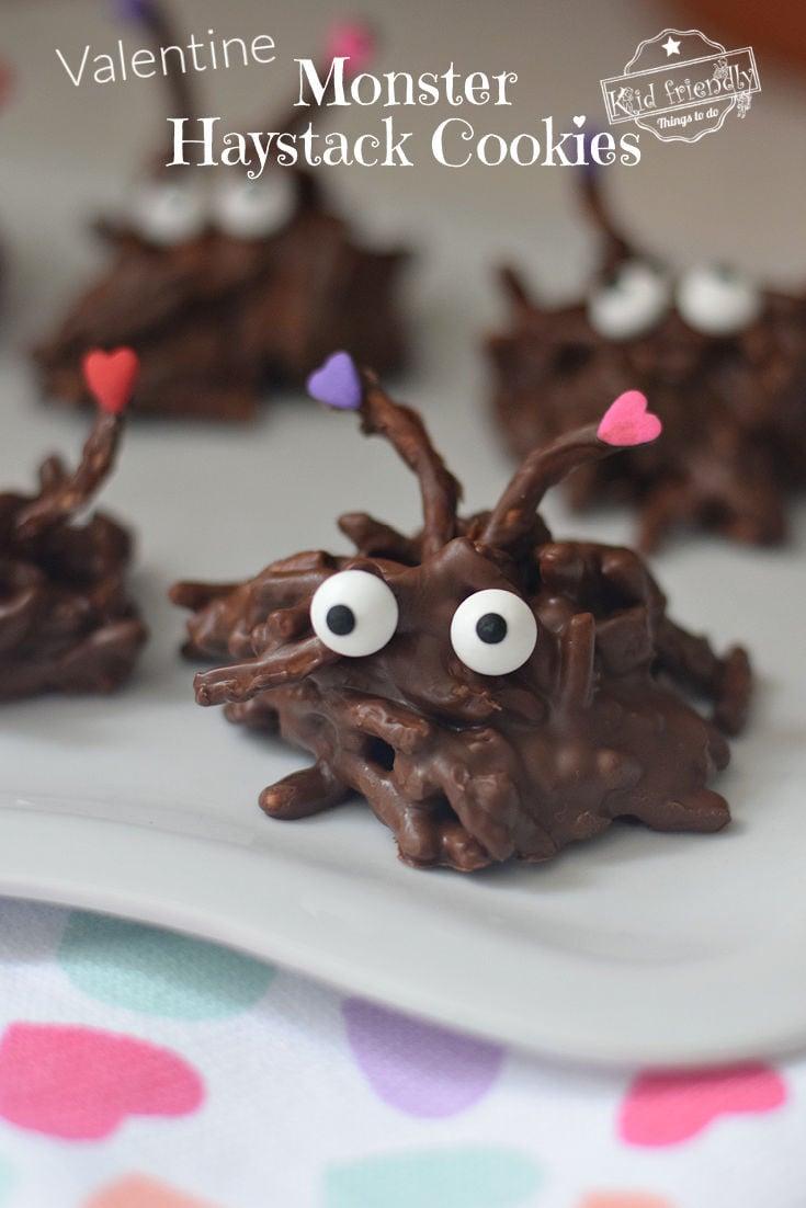 valentine haystack cookies recipe