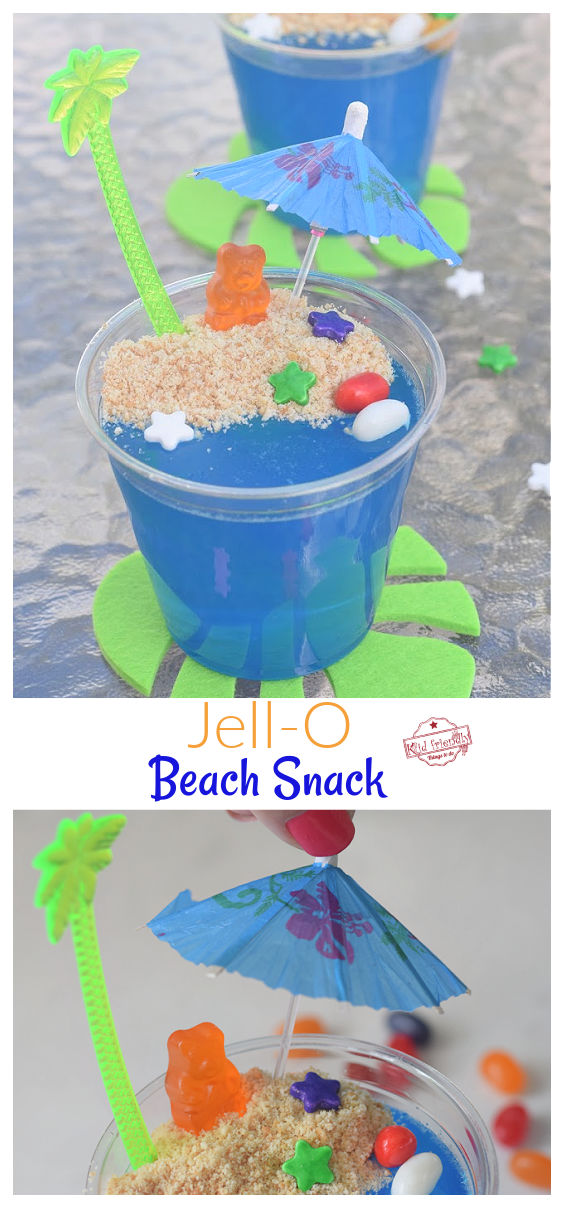 Jell-O Beach Snack Cup