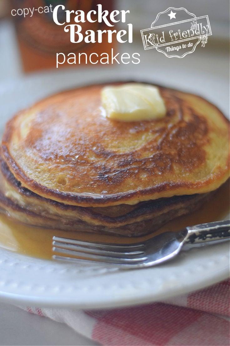 Cracker Barrel Pancake Recipe