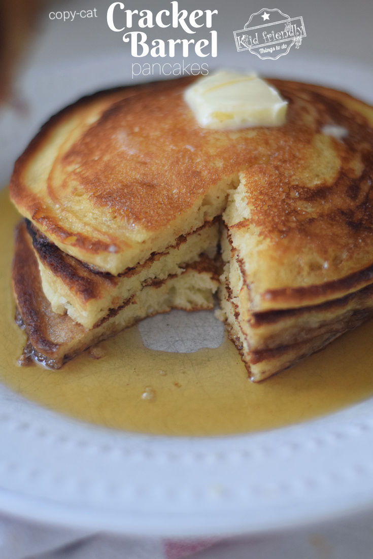 the best Cracker Barrel Pancakes