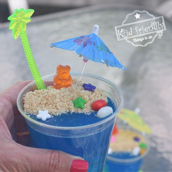 summertime Jell-O snack for kids