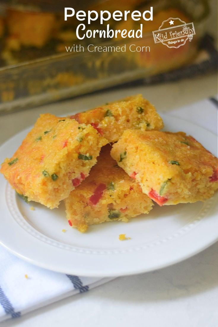 peppered cornbread recipe