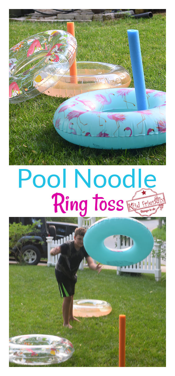 pool noodle game for teens