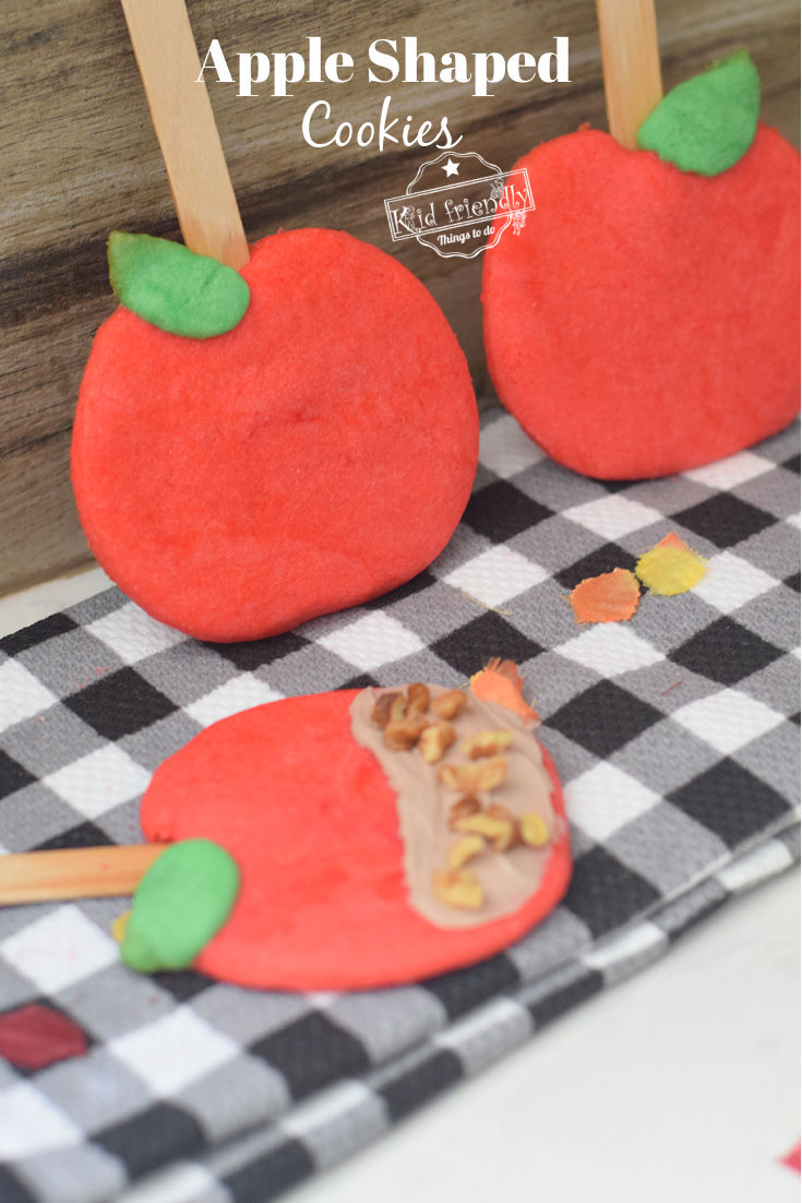 apple shaped cookies
