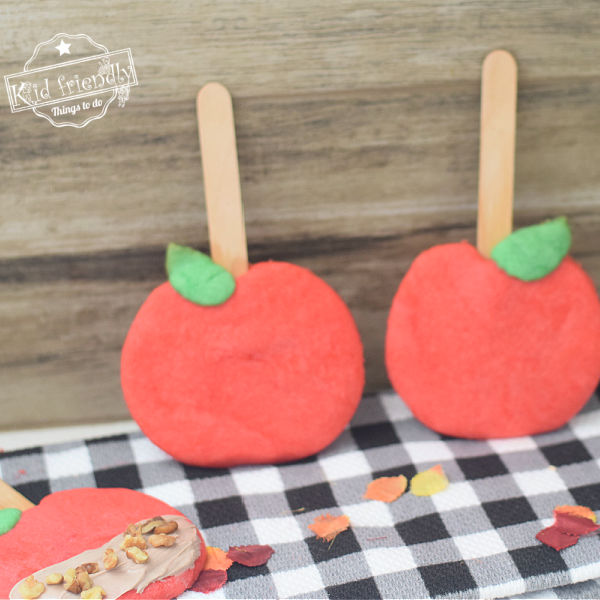 Apple Shaped Cut Out Sugar Cookies | Kid Friendly Things To Do
