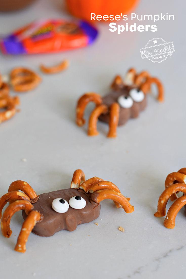 spider Halloween party treats