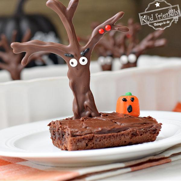 haunted forest Halloween Brownie