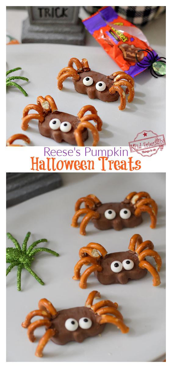 Spider Treats for Halloween
