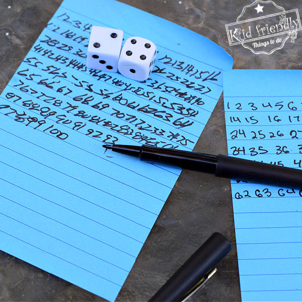 Come On Six! Family Dice Game (For All your Friends and Family)